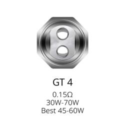 GT4 Verdampferköpfe 0.15...
